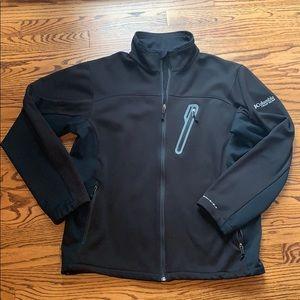 Men's full-zip Columbia jacket, L